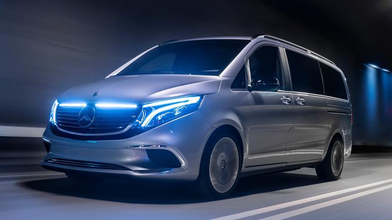 Mercedes EQC concept