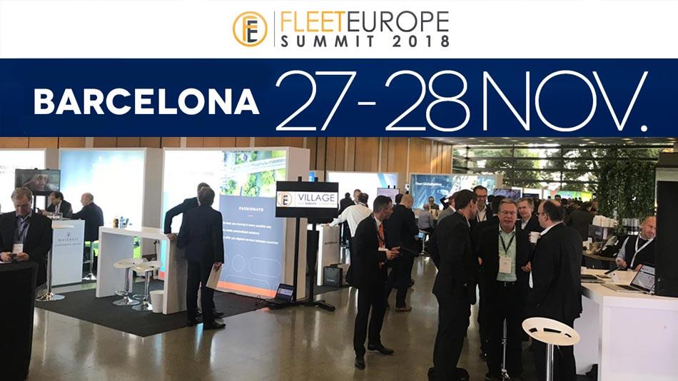 fleet europe summit barcelona 2018