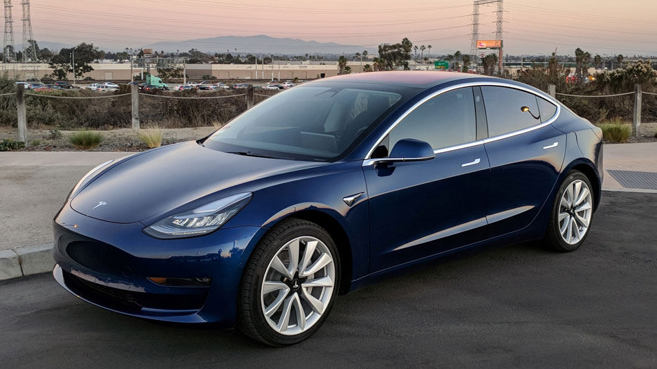 tesla model 3 fleet electrification